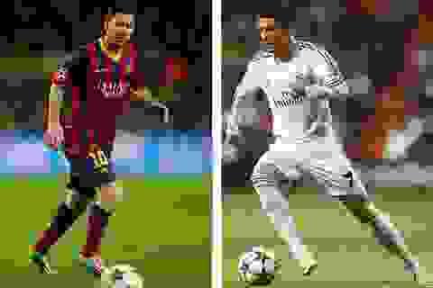Top 10 bàn thắng của C.Ronaldo, Messi trong năm 2015