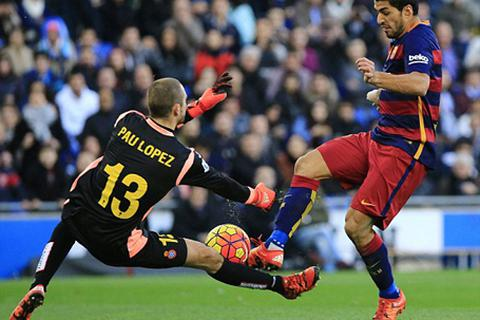 Messi-Neymar-Suarez tịt ngòi, Barca mất ngôi đầu vào tay Atletico