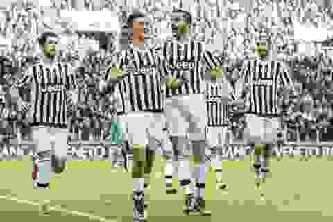 Juventus thắng trận thứ 8 liên tiếp, Inter giữ chặt ngôi đầu