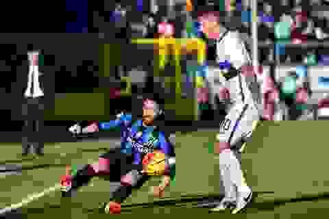 Gây thất vọng lớn, Inter có nguy cơ văng khỏi top 3