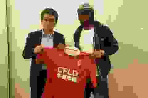 Gervinho chính thức sang Trung Quốc thi đấu