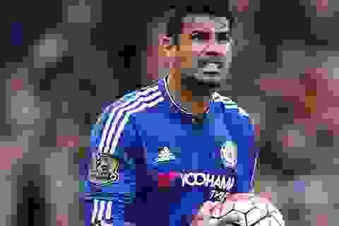 Bị đồng đội làm vỡ mũi, Diego Costa phải đeo mặt nạ