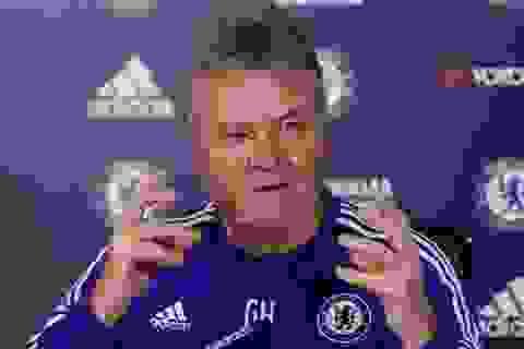 HLV Hiddink tự tin vào cơ hội đi tiếp của Chelsea