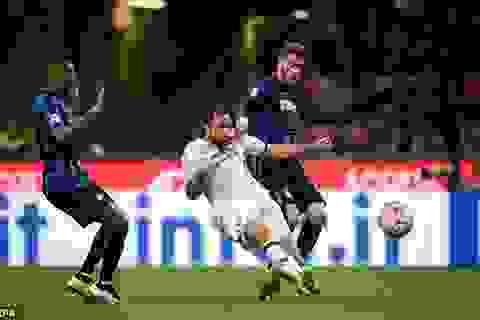 Thua ngược trong thế 9 người, Inter tan mộng dự Champions League