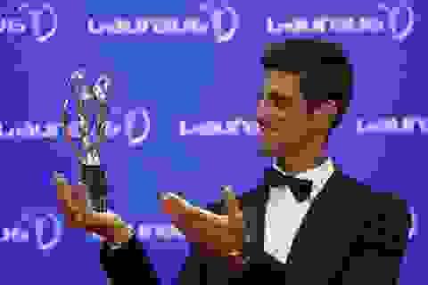 """Djokovic vượt qua Messi để giành giải """"Oscar thể thao"""""""