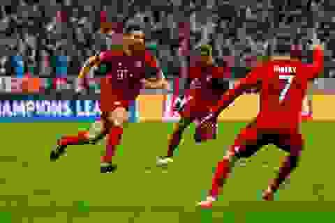 Bayern Munich san bằng kỷ lục của MU ở Champions League