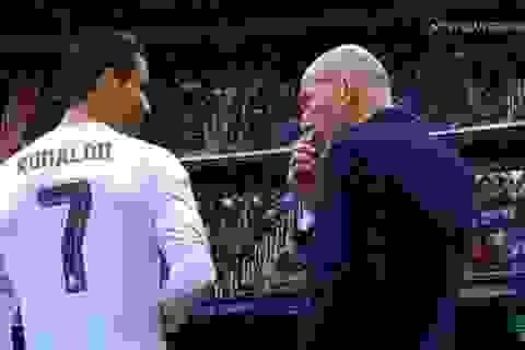 C.Ronaldo bị tố lấn quyền, ép HLV Zidane dùng người theo ý mình