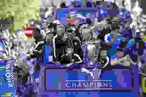 Choáng ngợp trước lễ rước cúp hoành tráng của Leicester City