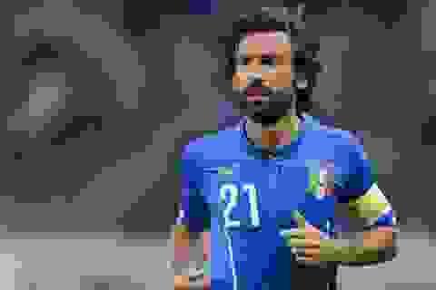 Tuyển Italia không gọi Pirlo dự Euro 2016