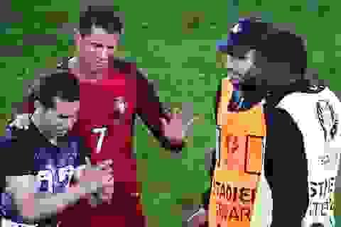 Hành động đẹp của C.Ronaldo trong nỗi thất vọng cùng cực