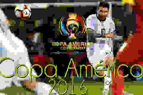 Chiêm ngưỡng 10 bàn thắng đẹp nhất Copa America 2016
