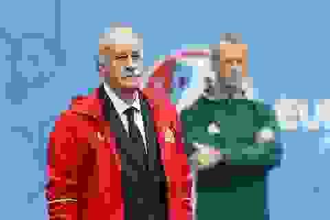 HLV Del Bosque xác nhận từ chức ở đội tuyển Tây Ban Nha