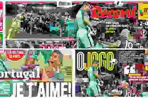 Báo chí thế giới tung hô C.Ronaldo lên mây xanh