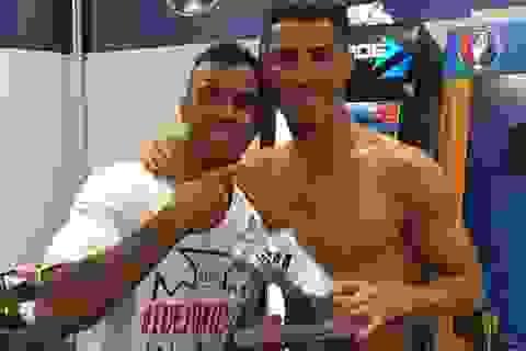 Nani phấn khích vì được C.Ronaldo tặng món quà quý