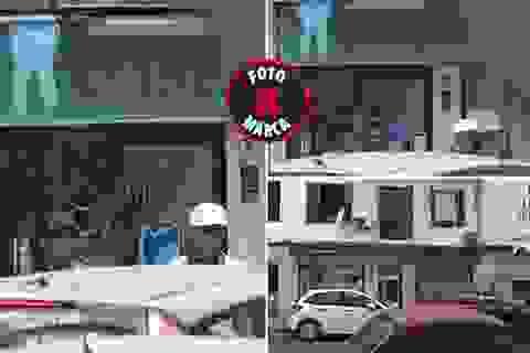 C.Ronaldo tranh thủ vào phòng khám răng để chữa trị đầu gối