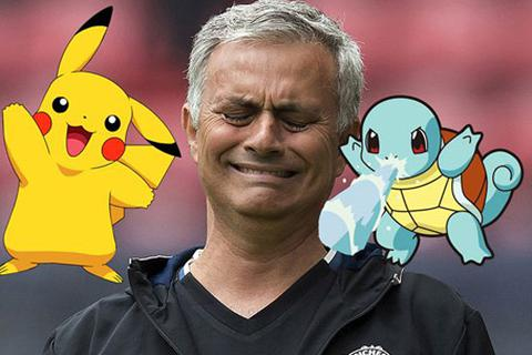 HLV Mourinho ban lệnh cấm chơi Pokemon Go ở MU