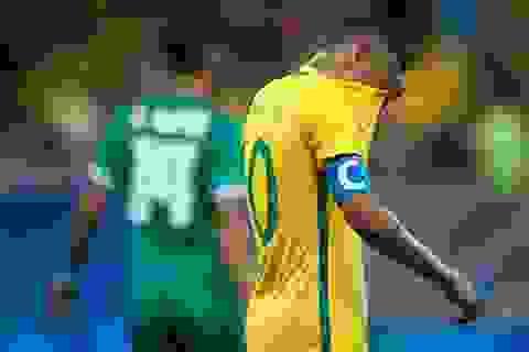 Neymar gây thất vọng, U23 Brazil đứng trước nguy cơ bị loại