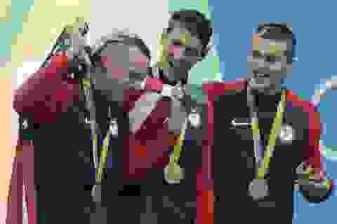 Michael Phelps giành tấm huy chương vàng thứ 19 ở Olympic