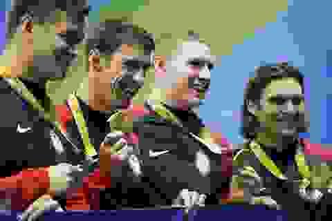 Michael Phelps giành tấm huy chương vàng thứ 23 ở Olympic