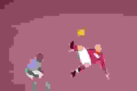 5 bàn thắng đẹp nhất ở trận derby Manchester qua góc nhìn hoạt họa