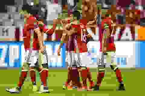 """Bayern Munich vùi dập """"tân binh"""" Rostov 5 bàn không gỡ"""