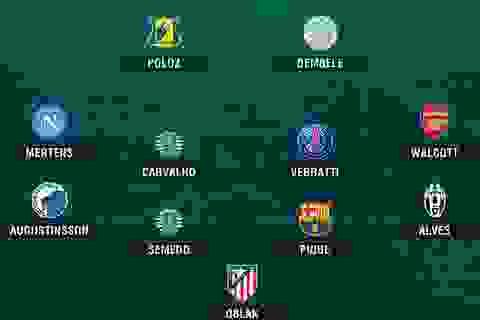 Đội hình tiêu biểu lượt thứ hai vòng bảng Champions League
