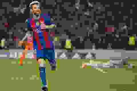 """HLV Enrique: """"Messi như đứa trẻ dạo chơi trong sân trường"""""""