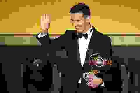 FIFA công bố giải thưởng mới thay thế Quả bóng vàng