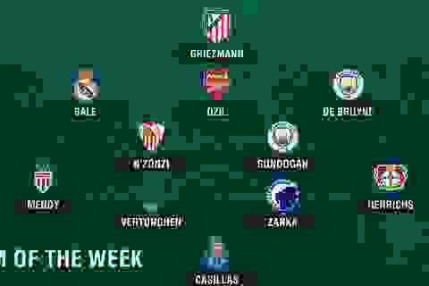 Đội hình tiêu biểu lượt thứ 4 vòng bảng Champions League