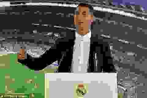 C.Ronaldo ký hợp đồng siêu khủng với Real Madrid