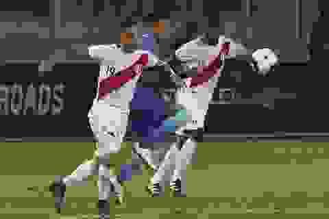 Peru 0-2 Brazil: Vũ công Samba vững ngôi đầu bảng