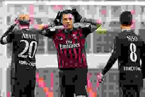 Rực sáng ở cuối trận, cầu thủ lạ giúp AC Milan thắng nghẹ thở