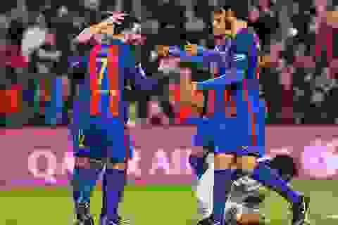 Không có Messi-Neymar-Suarez, Barcelona vẫn đại thắng 7-0 trước Hercules