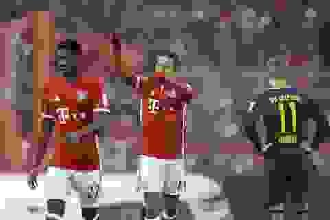 Vùi dập kẻ thách thức Leipzig, Bayern Munich độc chiếm ngôi đầu Bundesliga