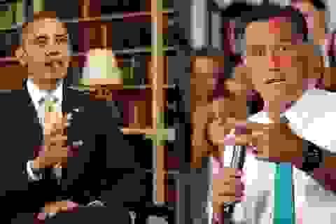 Hai ứng cử viên Tổng thống Mỹ chuẩn bị phút chót cho cuộc tranh luận