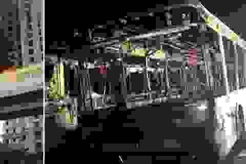 Xe buýt bốc cháy ở Trung Quốc, 47 người thiệt mạng