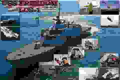 Mỹ kín đáo bố trí lực lượng quanh Biển Đông