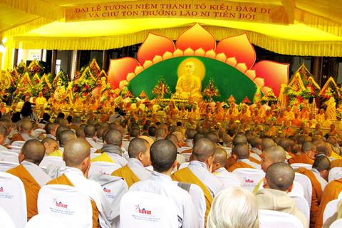 Hơn 2.000 người tham dự Đại lễ tưởng niệm Thánh Tổ Kiều Đàm Di