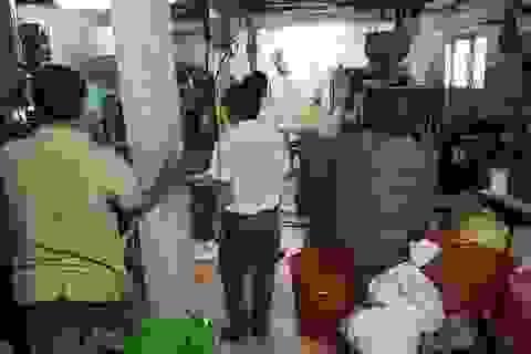 TP Huế: Cơ sở nhựa tồn tại hơn 10 năm trong khu dân cư gây bức xúc