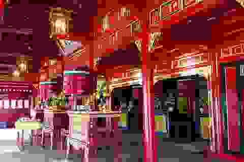Hoàn thành tu bổ 1 trong 5 miếu thờ quan trọng của triều Nguyễn
