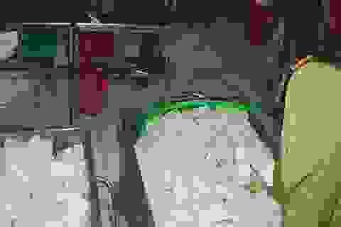 Phát hiện 2 cơ sở sản xuất khuôn đậu sử dụng thạch cao
