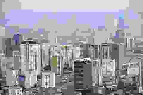 Giá nhà tăng vì siết tín dụng vào bất động sản