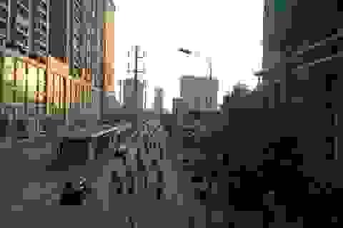 """Đô thị """"chồng lấn"""", đường Lê Văn Lương kéo dài thành nỗi khiếp sợ tắc, ngập"""