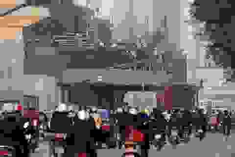 Cảnh cáo tổng thầu Trung Quốc, thay chỉ huy công trường đường sắt Cát Linh - Hà Đông