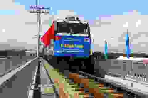 """""""Xóa sổ"""" toàn bộ cầu yếu, tàu Hà Nội - TPHCM chạy 120km/h"""