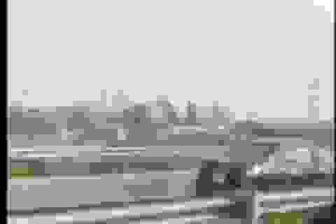 Xác định xe 4 chỗ đi ngược chiều trên cao tốc Nội Bài - Lào Cai