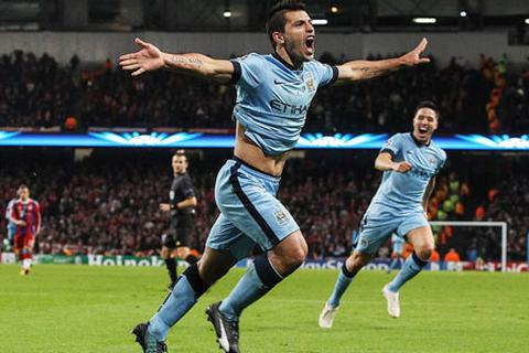 Man City 3-2 Bayern Munich: Lập hattrick, Aguero cứu rỗi Man City