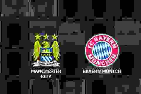 Manchester City - Bayern Munich: Vẫy vùng trong tuyệt vọng