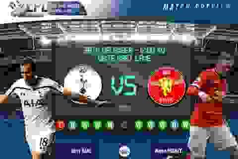 Tottenham - Man Utd: Thử thách khó khăn