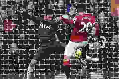 """MU chia điểm với Tottenham trong trận cầu """"nhạt"""""""